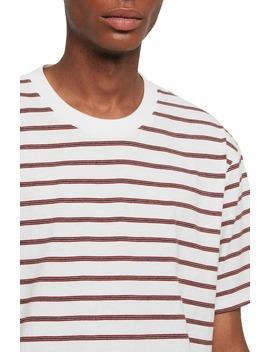 Travis Stripe Crewneck T Shirt by Allsaints