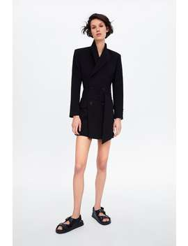 Belted Blazer Dress Jackets by Zara