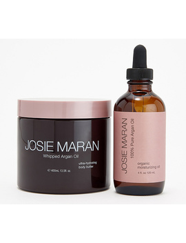 Josie Maran Deluxe Argan Oil & Body Butter by Josie Maran Begin By Pressing 100% Pure Argan Oil Into Face And Anywhere Needing Extra Hydration. Page 1