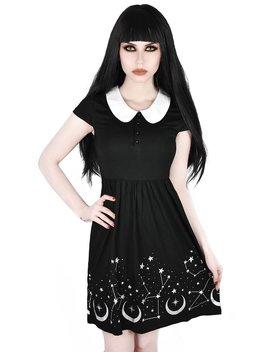 Moonscape Skater Dress by Killstar