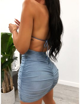 Matty Dress (Blue) by Laura's Boutique