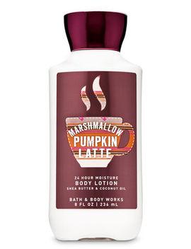 Marshmallow Pumpkin Latte\N\N\N Super Smooth Body Lotion    by Bath & Body Works