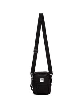 Black Canvas Mini Crossbody Bag by Opening Ceremony