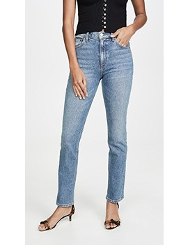 Liza High Straight Jeans by Reformation