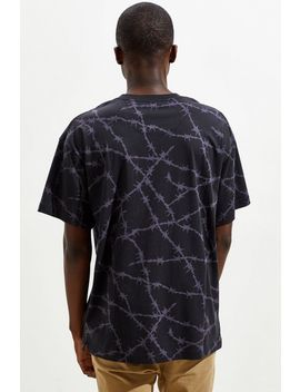 Uo Barbed Wire Pattern Dad Tee by Urban Outfitters