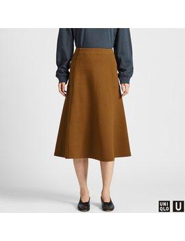Women U Jersey Flared Skirt by Uniqlo