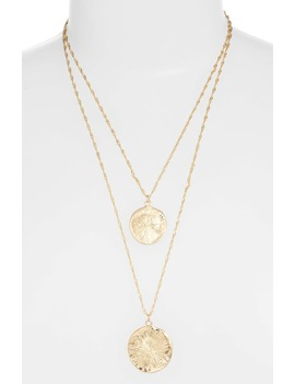 X Jill Jacobs Layered Pendant Necklace by 8 Other Reasons