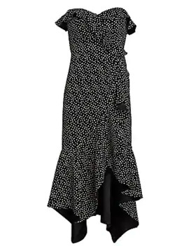 Speckle Asymmetric Mermaid Dress by Jonathan Simkhai