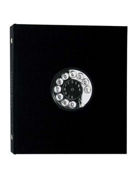 Vintage Telephone Desk Address Book by Getty Image