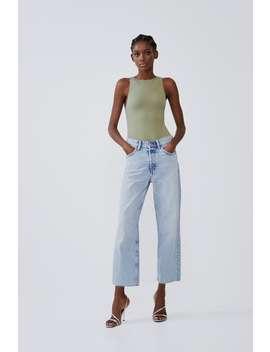Halter Bodysuit Basics T Shirts Trf by Zara