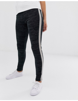 Vila Skinny Sport Stripe Pants by Vila