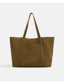 Leather Shopper Bag by General