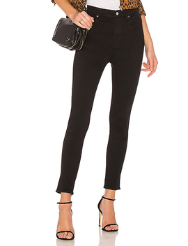 Roxanne Super High Rise Skinny In Jet by Agolde
