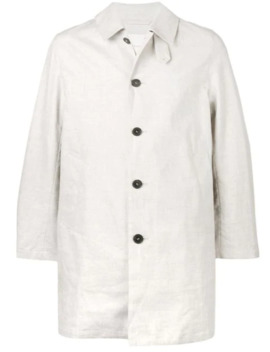 Classic Single Button Coat by Mackintosh