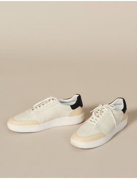 Leather Sneakers by Sandro Eshop