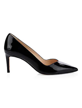 Anny Patent Leather Pumps by Stuart Weitzman
