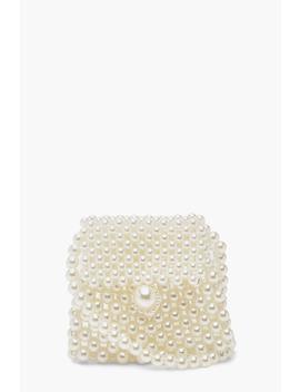 Mini Pearl Cross Body Bag by Boohoo