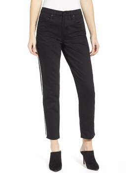 Side Stripe Straight Leg Jeans by Blanknyc Denim