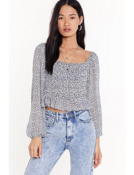 Hearts Lie Square Neck Top by Nasty Gal