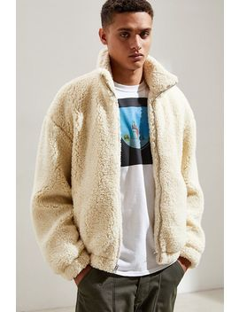 Uo Super Cozy Sherpa Bomber Jacket by Urban Outfitters