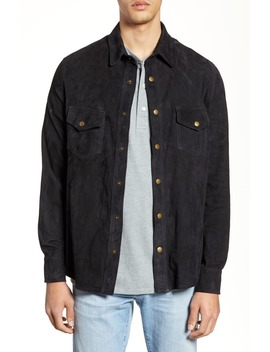 Suede Work Shirt by Billy Reid
