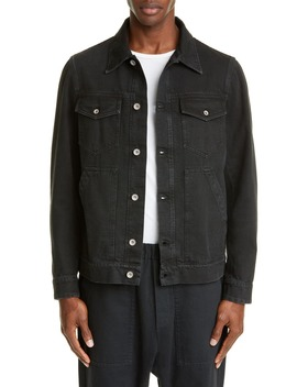 Black Denim Jacket by Barena Venezia