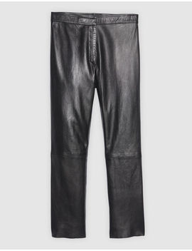Leather Trousers by Sandro Paris