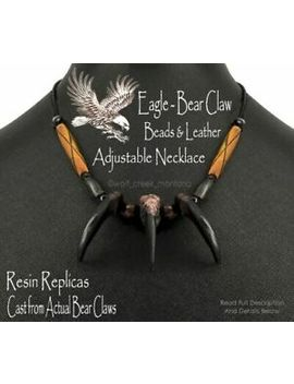 """Free Ship Grizzly Bear Claw 30"""" Necklace Mountain Man Rendezvous Grizzlies #E4' by Ebay Seller"""