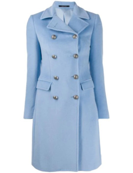 Double Buttoned Coat by Tagliatore