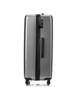 Platinum Gloss 'retro' Large 4 Wheel Suitcase by Tripp