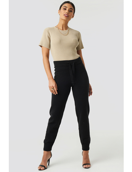 Ty Knitted Pants Black by Xlethelabel