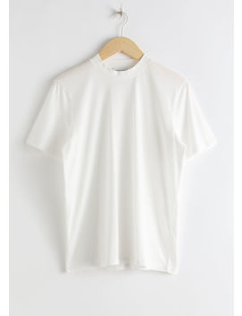 Organic Cotton Crewneck T Shirt by & Other Stories