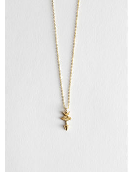 Arrow Pendant Chain Necklace by & Other Stories