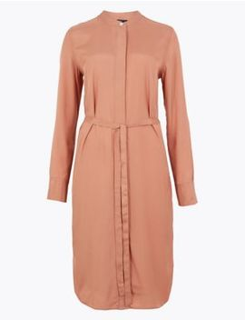 Button Detailed Shirt Dress by Marks & Spencer