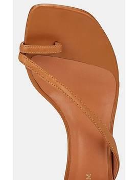 Sirene Leather Ankle Tie Sandals by Derek Lam