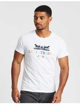 2 Horse Graphic T Shirt by Levi's
