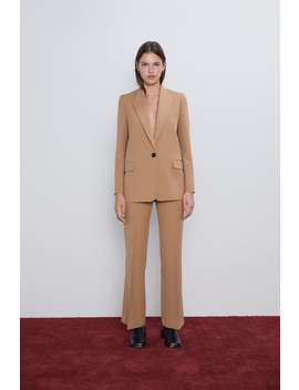 Blazer With Flap Pockets New Inwoman by Zara