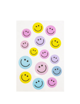 Assorted Smiling Face Stickers by Forever 21