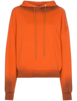 Burnt Effect Hoodie by Eckhaus Latta