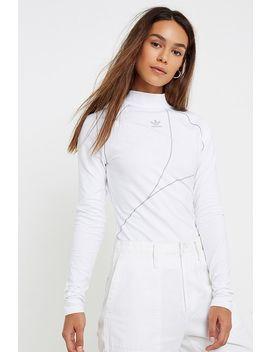 Adidas Originals White Long Sleeve T Shirt by Adidas Originals