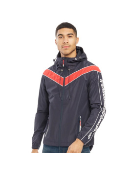 Superdry Mens Track Cagoule Navy by Superdry