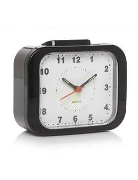 Wilko Square Alarm Clock Black Wilko Square Alarm Clock Black by Wilko
