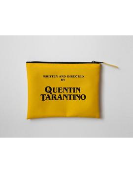 Geschrieben Und Unter Der Regie Von Quentin Tarantino Make Up Tasche Kosmetik Tasche Accessoire Beutel Tumblr Pinterest Instagram by Etsy