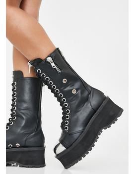 Gravedigger Boots by Demonia