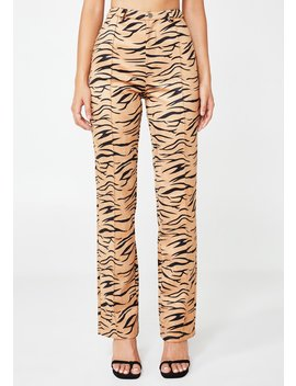 Indra Zebra Trousers by Tiger Mist
