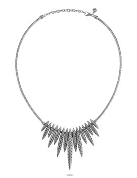 Classic Chain Spear Dangling Bib Necklace by John Hardy