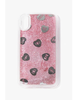 Heart Waterfall Case For I Phone Xr by Forever 21