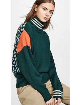 Twister High Collar Sweater by Essentiel Antwerp