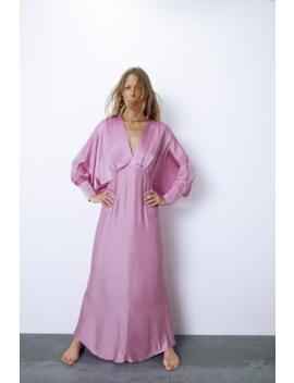 Satin Dress View All Dresses Woman by Zara