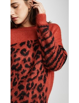 Triboli Animal Pattern Sweater by Essentiel Antwerp